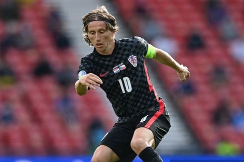 Cara Mencetak Gol ala Luka Modric ke Gawang Skotlandia di Euro 2020