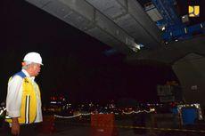 Konstruksi Jalan Tol Layang Jakarta-Cikampek Baru 49,4 Persen