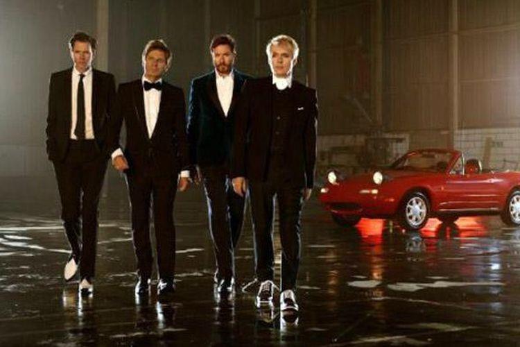Grup legendaris Duran Duran digandeng Mazda untuk peluncuran MX-5 Miata.