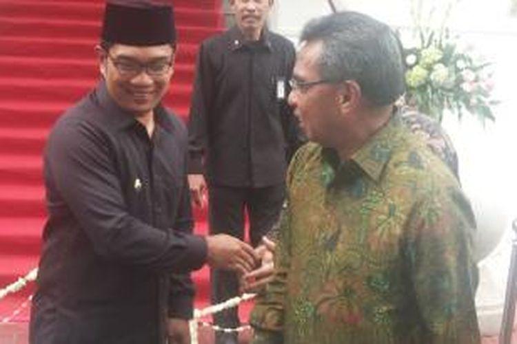 Ridwan Kamil saat meresmikan Museum Bank Indonesia di Bandung, awal 2014 lalu.