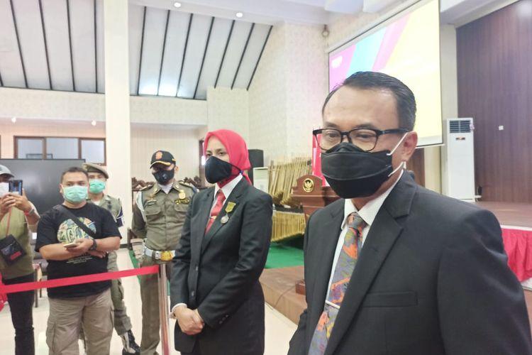Plh bupati Hadi Sulistyo  menindaklanjuti surat gubernur jawa timur terkait sekda Jember yang sah sesuai aturan