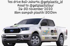 Ford Ranger Menjelajah Bali-Jakarta dengan Solar dari Sampah Plastik