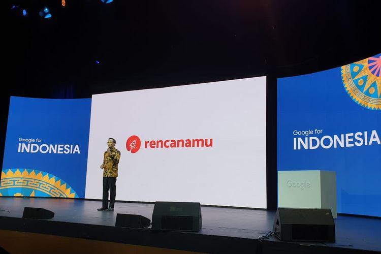 Google Managing Director Randy Jusuf dalam acara Google 4 Indonesia.