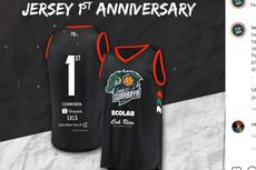 Jersey Anniversary Klub Basket Louvre Surabaya Laris dalam Waktu 4 Jam