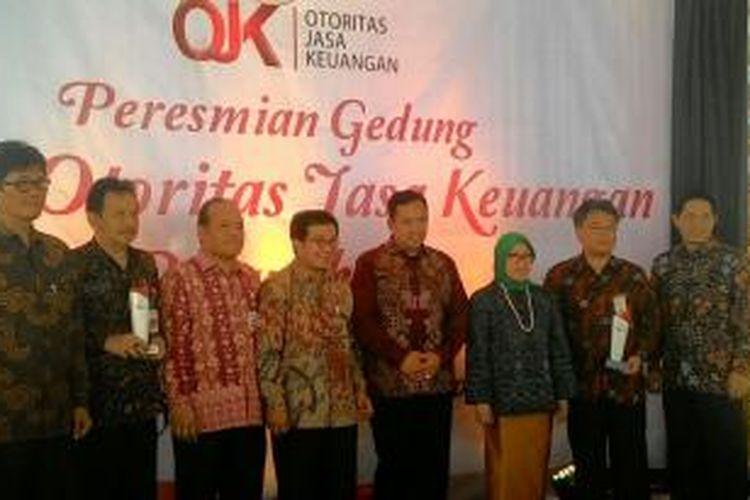 Suasana peresmian kantor OJK di Purwokerto, Jawa Tengah, Selasa (7/4/2015).