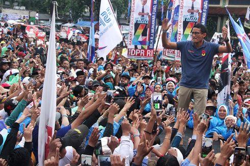 PCNU Lumajang Protes Sandiaga Kibarkan Bendera NU saat Kampanye