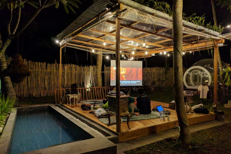 Are living room di Nira Camper Village