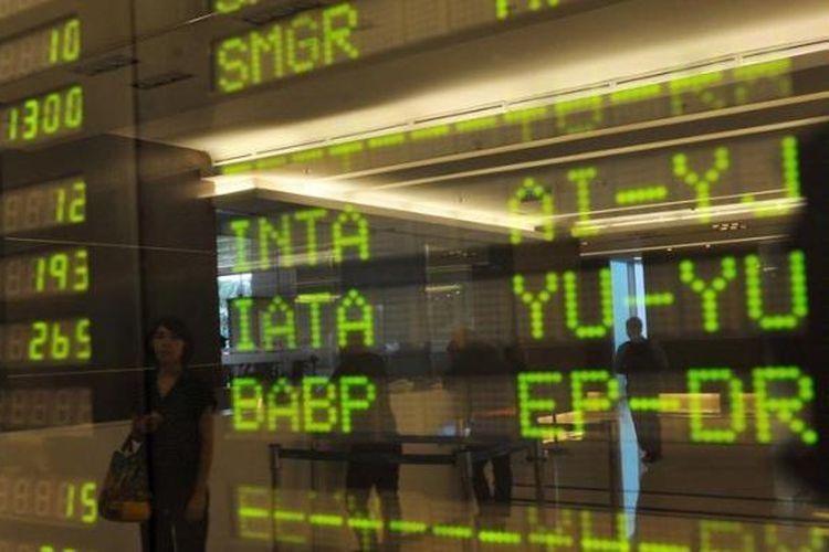 Ilustrasi IHSG di Bursa Efek Indonesia