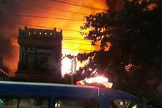 Akibat Kompor Meledak, 15 Rumah Ludes Terbakar