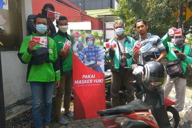 Federal Oil distribusikan ribuan masker