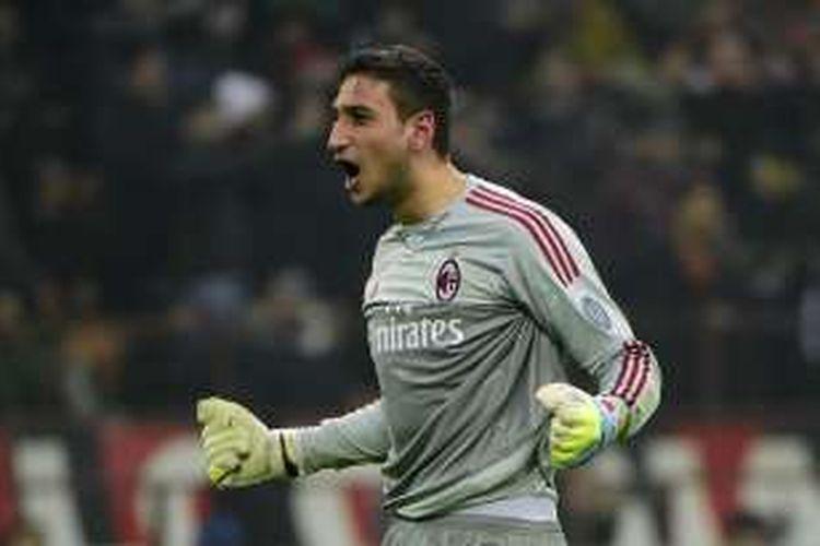 Kiper muda AC Milan, Gianluigi Donnarumma.
