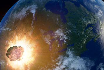 Ledakan Kosmik Hancurkan Kota Kuno di Lembah Yordan
