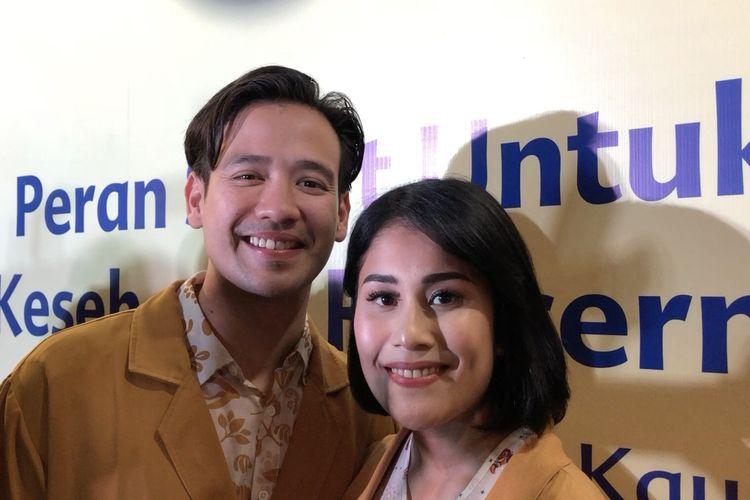 Tarra Budiman dan samg istri, Gya saat ditemui di kawasan Menteng, Jakarta Pusat, Rabu (4/3/2020).