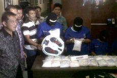 Miliki Sabu 20,88 Kg, 2 Bandar Narkoba Ditangkap