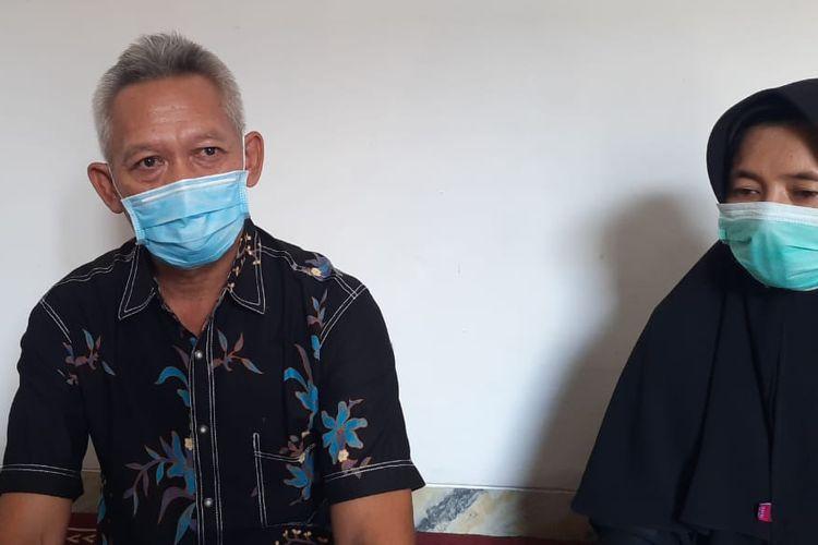 Inda Gunawan (57), Kaka kandung Didik Gunardi selaku kapten pesawat maskapai NAM Air yang jadi penumpang Sriwijaya Air SJ 182