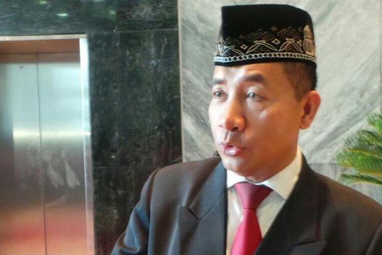 Politisi PDI Perjuangan, Imam Suroso.(KOMPAS.com/INDRA AKUNTONO)