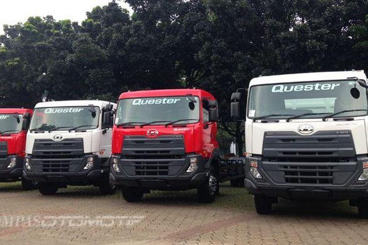 UD Trucks di Parkir Timur Senayan.