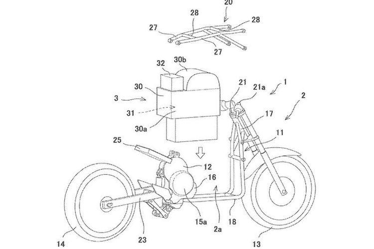 Motor listrik Kawasaki Endeavor