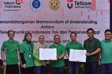 Kembangkan SDM Inovatif, Telkom Gandeng 3 Perguruan Tinggi di Bandung