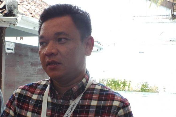 Sekretaris Tim Pemenangan Ahok-Djarot, Ace Hasan Syadzily, di Rumah Lembang, Menteng, Jakarta Pusat, Rabu (4/1/2017).