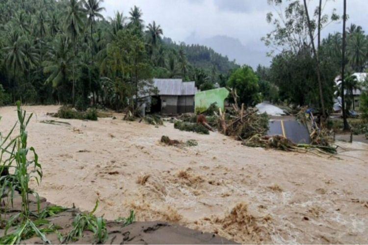 Banjir bandang terjang Kabupaten Bolsel, Sulut