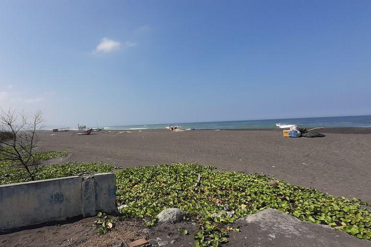 Kawasan Pantai Samas di Desa Srigading, Kecamatan Sanden, Bantul, DI Yogyakarta.