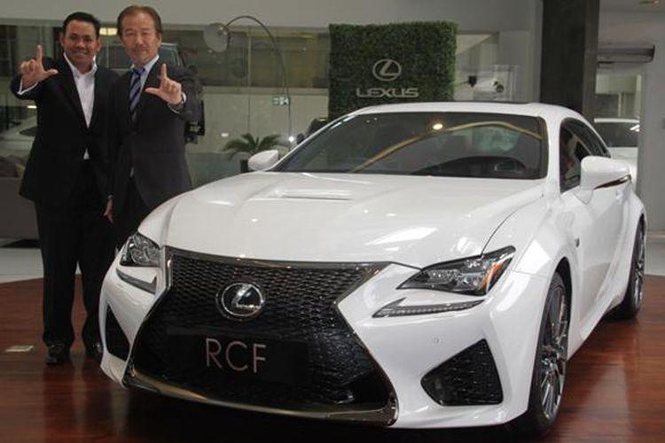 Lexus RC F meluncur di Indonesia dengan harga mulai Rp 2,825 miliar.