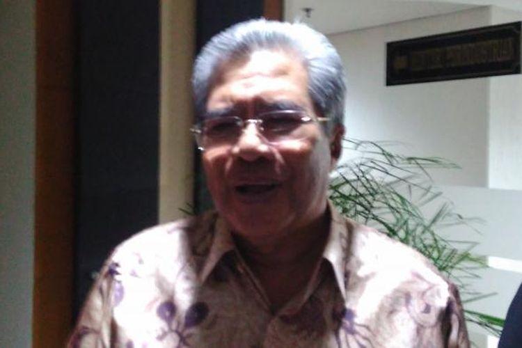 Willem Siahaya Ketua Dewan Pimpinan Bidang Industri Gabungan Usaha Penunjang Energi dan Migas (Guspenmigas) di Gedung Kemenperin, Jakarta, Senin (13/2/2017).