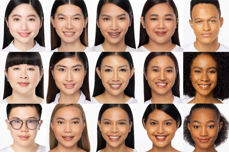 Produk kosmetik Dear Me Beauty merayakan beragam warna kulit orang Indonesia dengan menghadirkan 15 pilihan warna foundation.