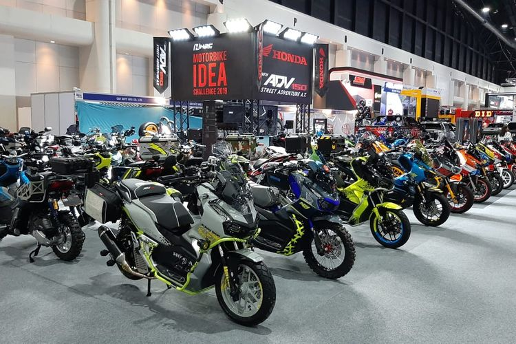 Kontes modifikasi Honda ADV 150 di Thailand International Motor Expo 2019
