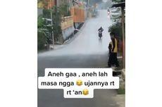 Video Viral Hujan Lokal Antar-RT, Ini Penjelasan BMKG