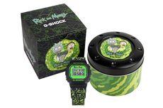 G-Shock Luncurkan Koleksi Jam Tangan Rick and Morty Limited Edition