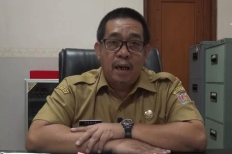 Sekda Cilacap, Jawa Tengah, Farid Maruf.