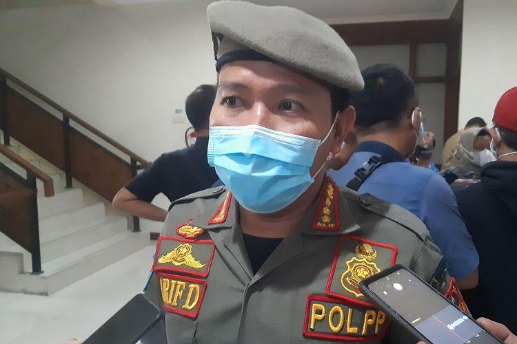 Kepala Satpol PP Solo, Arif Darmawan di Solo, Jawa Tengah, Senin (14/6/2021).