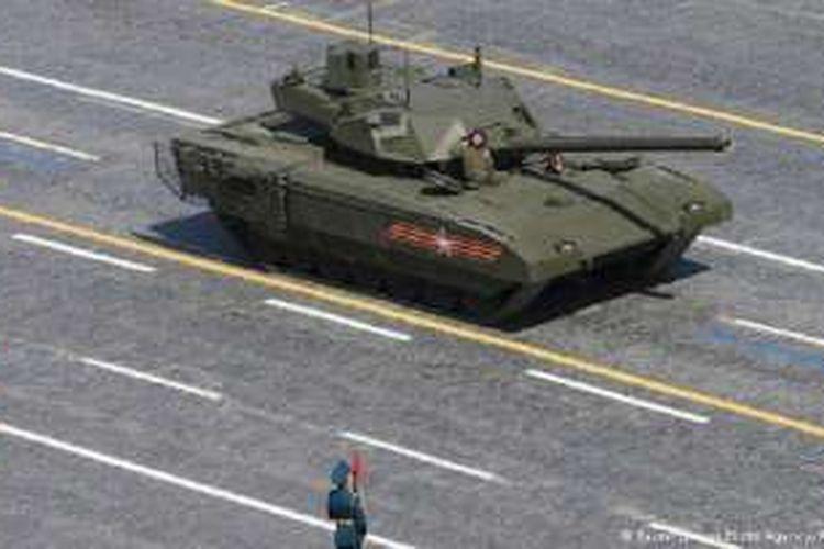 Tank tempur T-14 Armata.