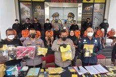 Polres Tangsel Gerebek 3 Pabrik Tembakau Sintetis Rumahan, 9 Orang Ditangkap