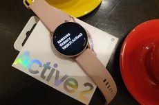 Melihat Modisnya Samsung Galaxy Watch Active 2