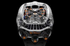 Jam Tangan Berbentuk Mesin Bugatti Lapis Berlian dari Jacob & Co