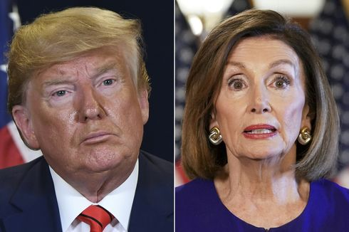 Ketua DPR AS: Pemakzulan Trump Jalan Terus