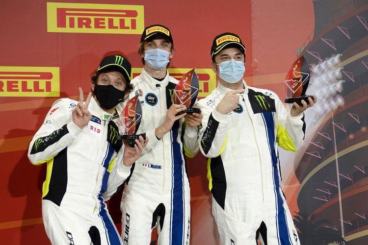 Rossi dan tim Monster VR46 Kessel finis keempat di Gulf 12 Hours