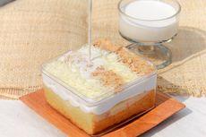 Resep Milk Bath Cake, Ide Jualan Dessert Box