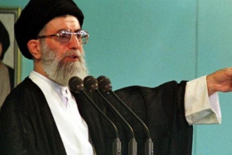 Pemimpin spiritual Iran, Ayatollah Ali Khamenei