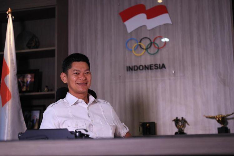 Ketua Umum Pengurus Besar Ikatan Sport Sepeda Indonesia (PB ISSI), Raja Sapta Oktohari.
