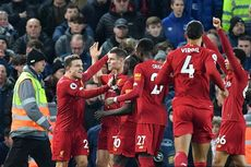 Liverpool Vs Everton, The Reds Menang Telak di Derby Merseyside