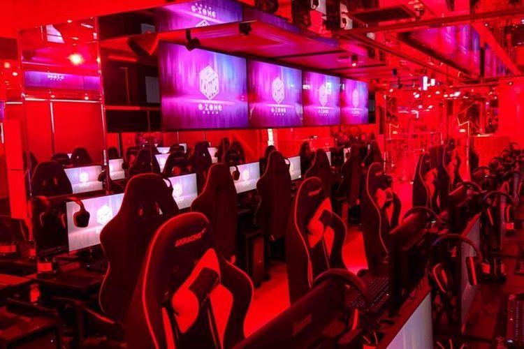 Suasana di hotel e-Zone Cyber Space