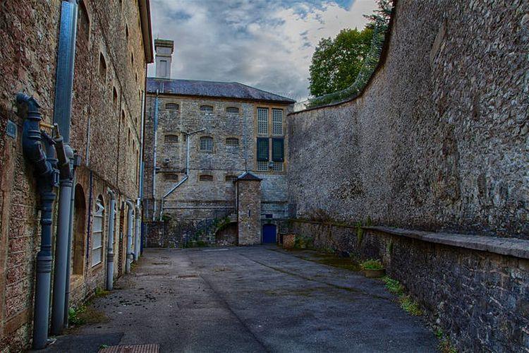 Shepton Mallet Prison, konon penjara paling angker di Inggris.