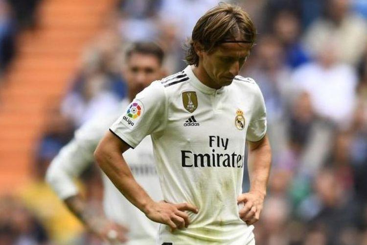 Luka Modric soal Ikuti Bale Pulang ke Tottenham: Saya Terlalu Tua