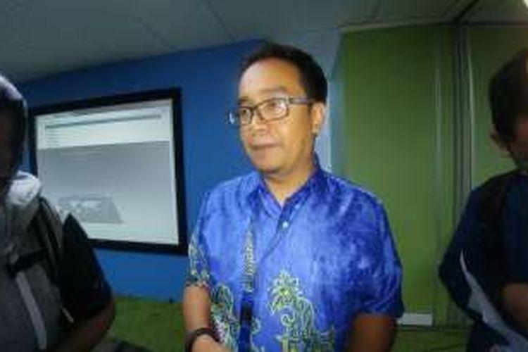 Vice President LTE XL, Rahmadi Mulyohartono, Rabu (13/10/2016)