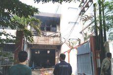 Gudang Spiritus di Semarang Terbakar, Terdengar 5 Kali Suara Ledakan