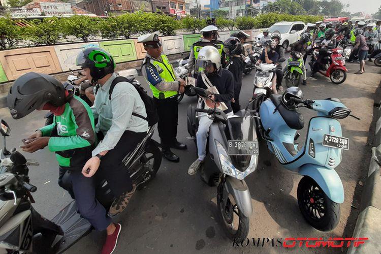 Operasi Patuh Jaya 2019 di Pasar Minggu, Jakarta Selatan